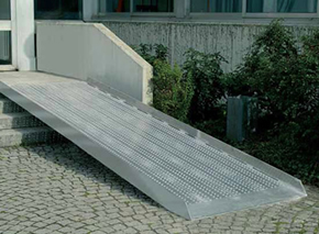 Pedestrian Bridge ramp