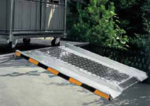 Aluminium Tail lift ramp