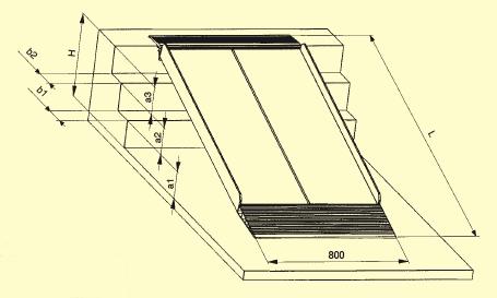 sara wheelchair ramps aluminium stair bridge ramps