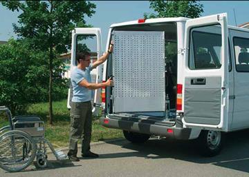 Sara Ramps - Aluminium Van ramp type RRK