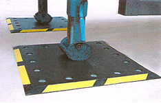 Polymer/rubber Trailer plates